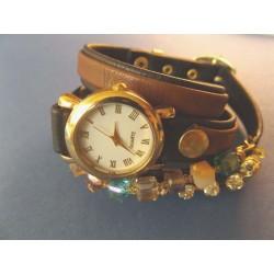 """Moteriškas laikrodis su karoliukais """"LK 1051"""""""