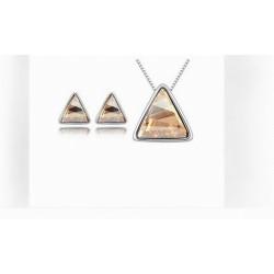 """Papuošalų rinkinys """"Trikampiai"""""""