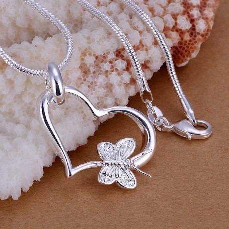 Širdelė su drugeliu